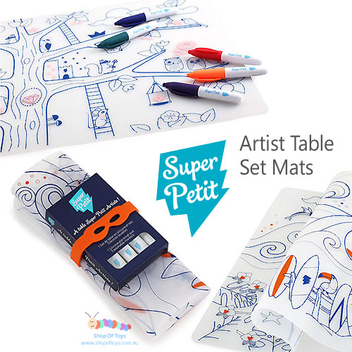 Petit artist dinner table mat for kids selection super petit artist dinner table mat for kids selection ccuart Choice Image