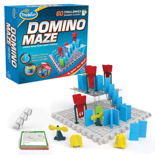 ThinkFun Domino Maze Logic Game (8+ yrs)