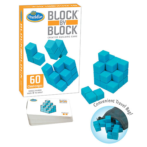 ThinkFun Block by Block Game (8+ yrs)