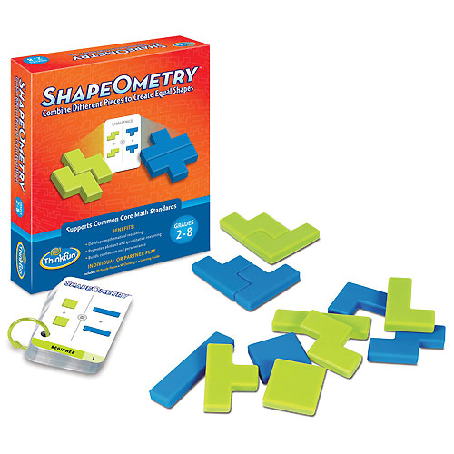 ThinkFun ShapeOmetry Game (8+ yrs)