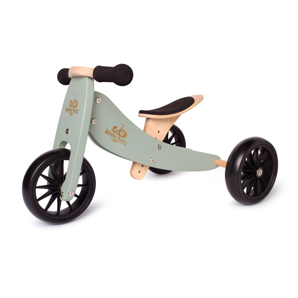 Kinderfeets Tiny Tot tricycle / balance bike - Sage (1-2 years)