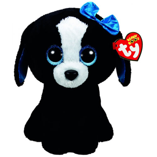 TY Beanie Boos Tracey the Black Dog (Large)