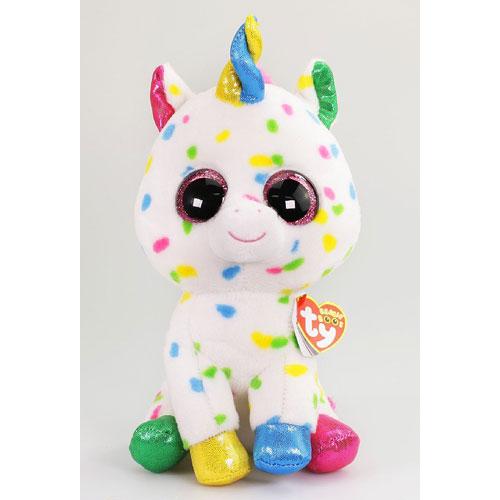Ty Beanie Boos - Harmonie the Speckled Unicorn (Medium).  TY37266 HarmonieUnicorn ed3da0d10b4f