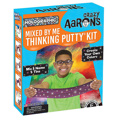 Crazy Aaron - Mixed By Me Thinking Putty Kit - Holographic