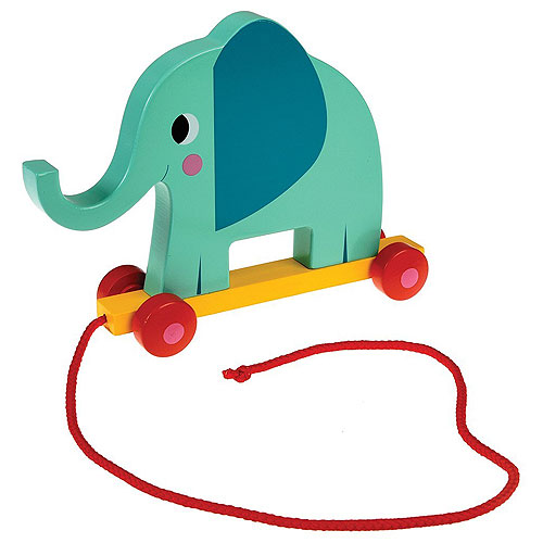 Elvis the Elephant Pull-along Toy