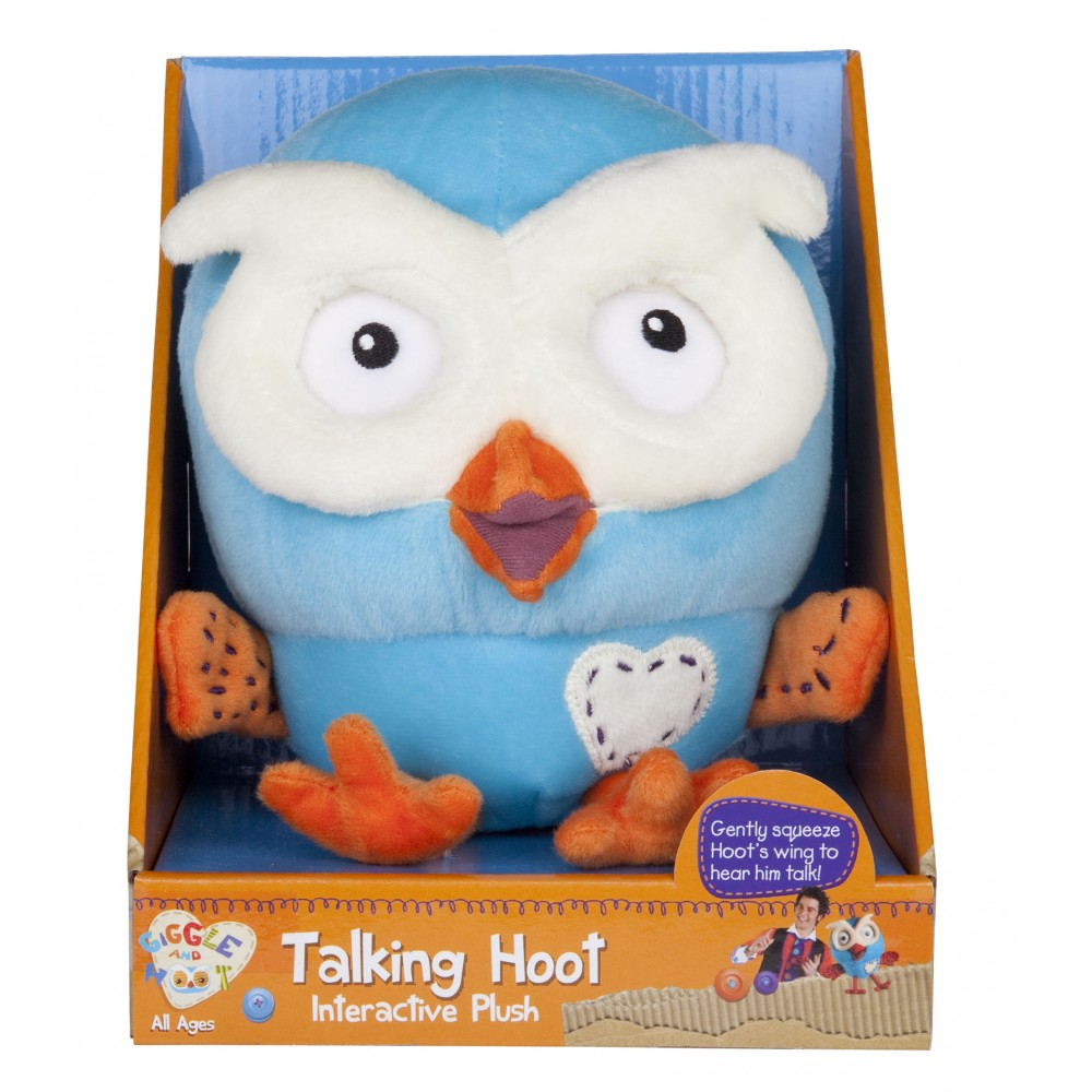 Giggle and Hoot - Talking Hoot (17cm)