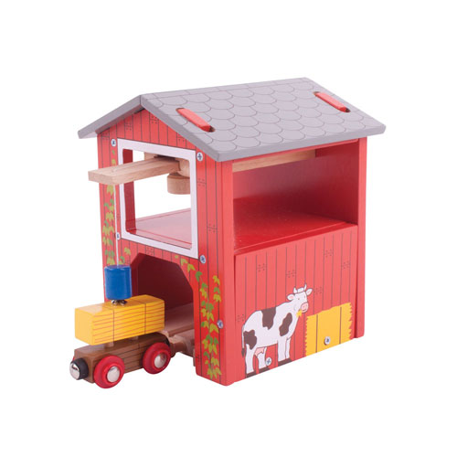 Bigjigs Rail - Red Barn