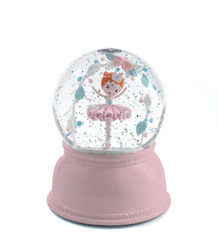 Ballerina Snow Globe Night Light by Djeco