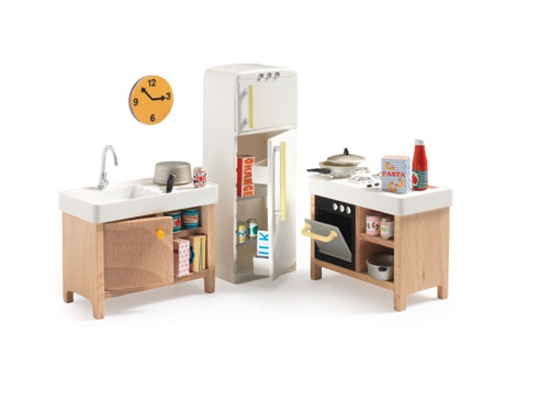 Djeco Dollhouse Furniture Kitchen