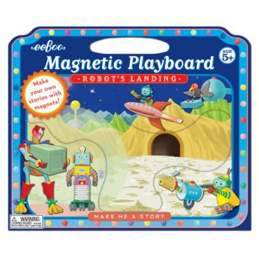 Magnetic Playboard - Robot's Landing