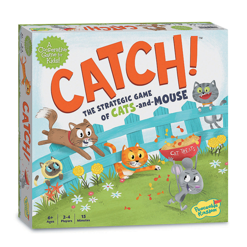 Catch! - Cooperative Board Game (6+ yrs, 2-4 Players)