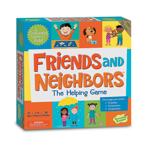 Friends and Neighbors Match Game - Cooperative Board Game (3+ yrs, 1-4 players)