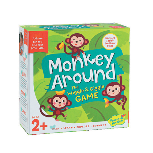 Monkey Around - The Wiggle & Giggle Game (2+ yrs, 2 Players)