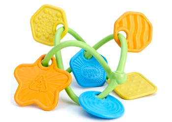 Green Toys® Twist Teether