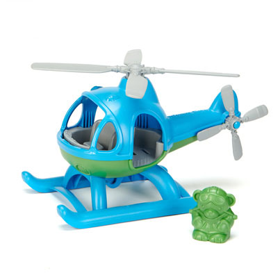 Green Toys® Helicopter (Blue)