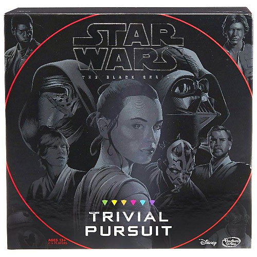 Trivial Pursuit - Star Wars, The Black Series Edition (12+ yrs, 2-4 players)