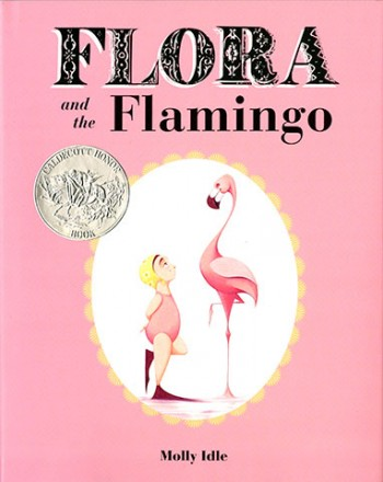 Flora and the Flamingo by Molly Idle (3+ yrs)