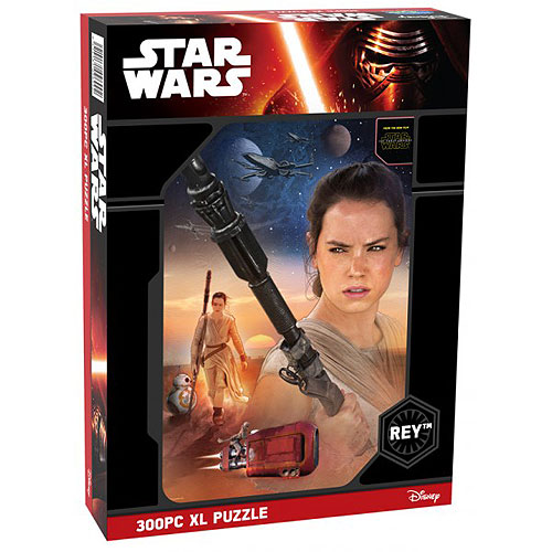 Star Wars 300 XL pieces puzzle - Rey