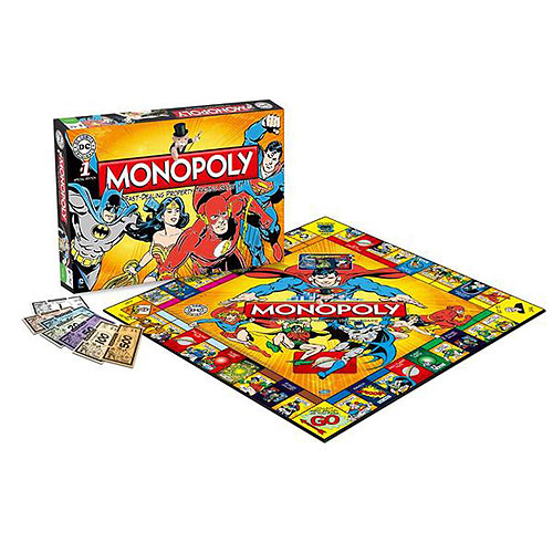 Monopoly - DC Comics Original Edition (8+ yrs)