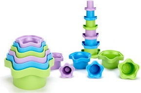 Green Toys® Stacking Cups (set of 6)