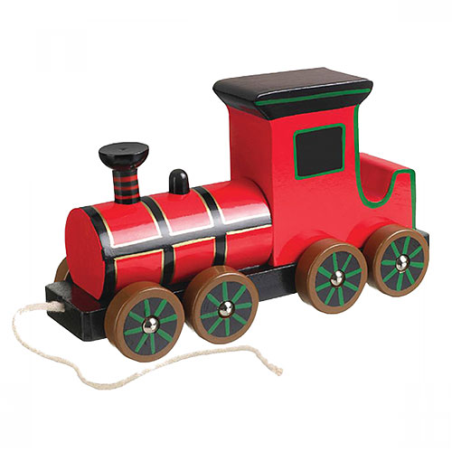 Orange Tree Steam Engine Pull-Along