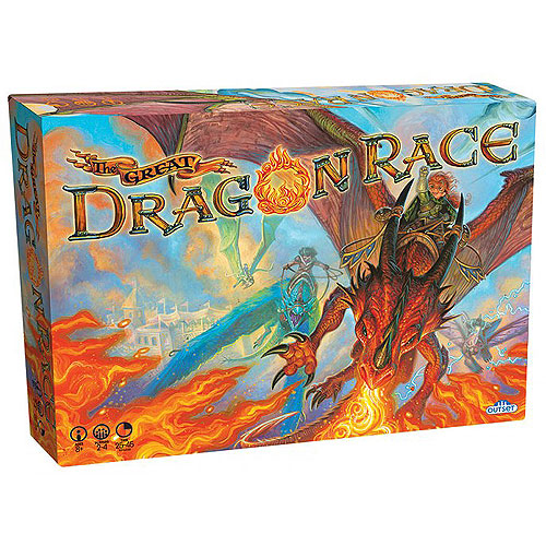 The Great Dragon Race Board Game (8+ yrs, 2-4 Players)