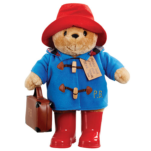 Paddington with Boots, Embroidered Jacket and Luggage - Large (34cm)