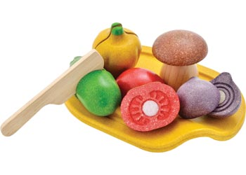 Plan Toys - Assorted Vegetable Set (18+ mths)
