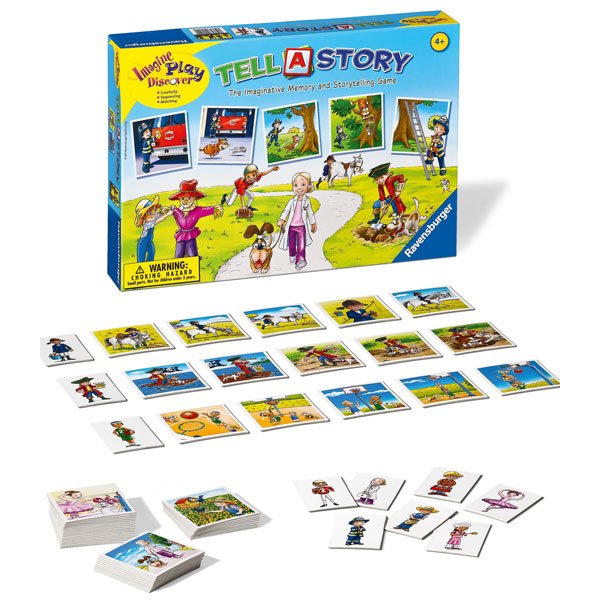 Ravensburger Tell A Story Game (4+ yrs, 1-5 Players)