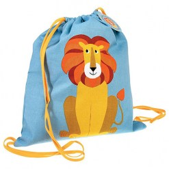 DrawstringBag-Lion