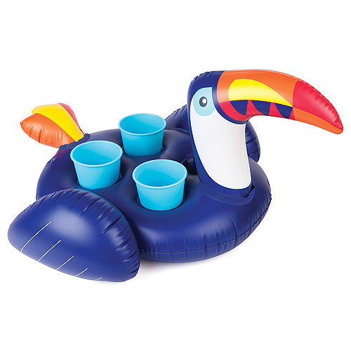 SunnyLife Inflatable Drink Holder - Toucan