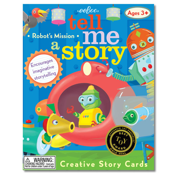 Tell Me A Story Cards - Little Robot's Mission