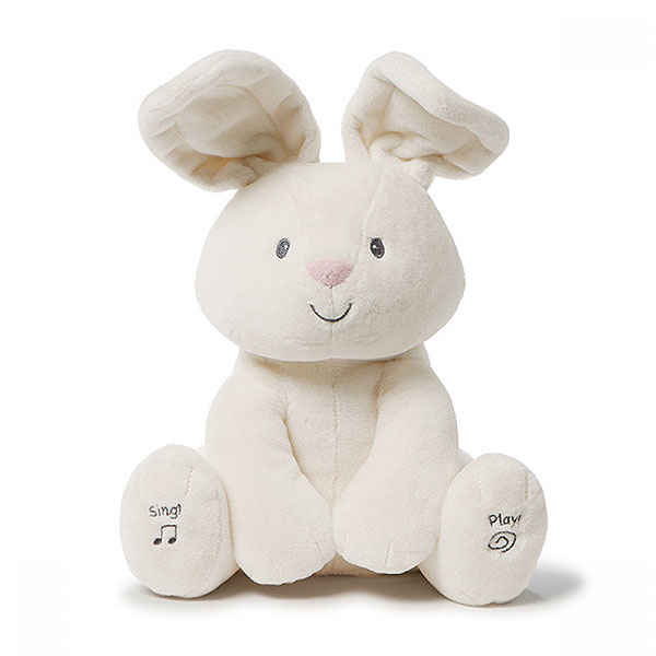 Gund Flora the Bunny Animated Plush (0+ years, 30cm)