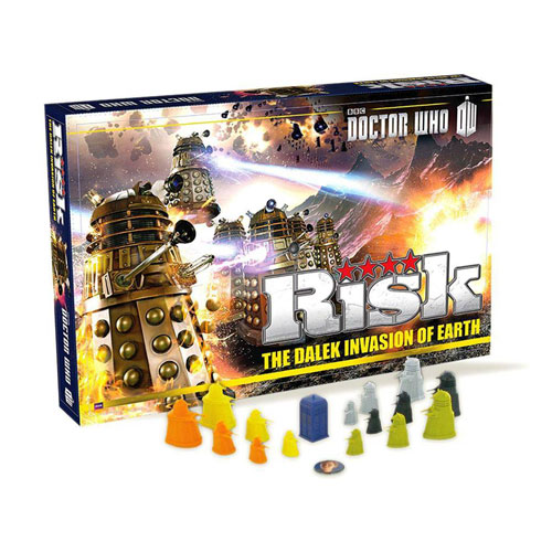 Risk - Dr Who Edition (10+ yrs, 2-5 Players)