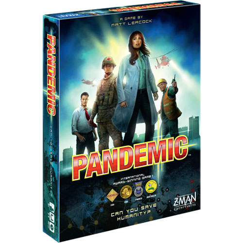 Pandemic Co-Operative Board Game (8+ yrs, 2-4 players)